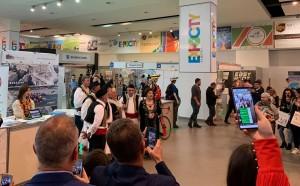 Çel siparin Panairi Ndërkombëtar i Turizmit 2019 në Tiranë