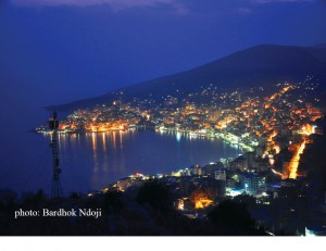 Saranda, the nymph of the Albanian coast.