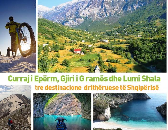 NËNTOR OSEKU: Curraj i Epërm, Grama  Bay and Shala River -  three heartbreaking destinations of Albania