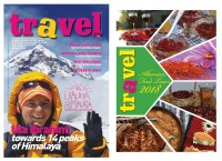 Travel Magazine nr 25 sjell:  Albanian Food Tours 2018 - Turet më të mira kulinare. Uta Ibrahimi drejt 14 Majave Himalaja
