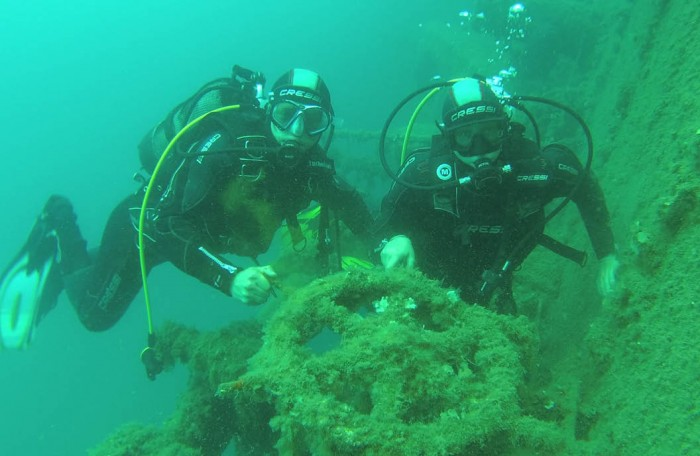 Within Saranda underwater world with Spiranca Diving Center