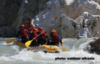 Vjosa - White rafting river...!
