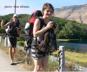 Backpackers make the world delightful