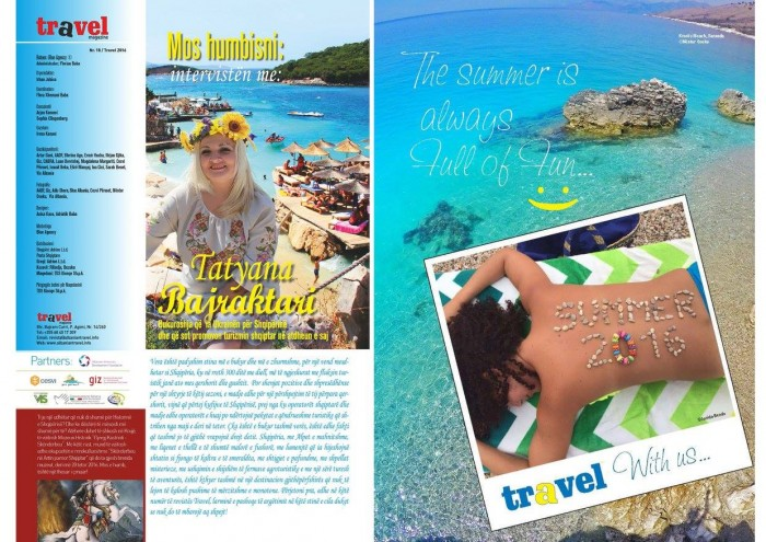 Në treg numri i ri i Travel Magazine - Enjoy the Colours of Albania
