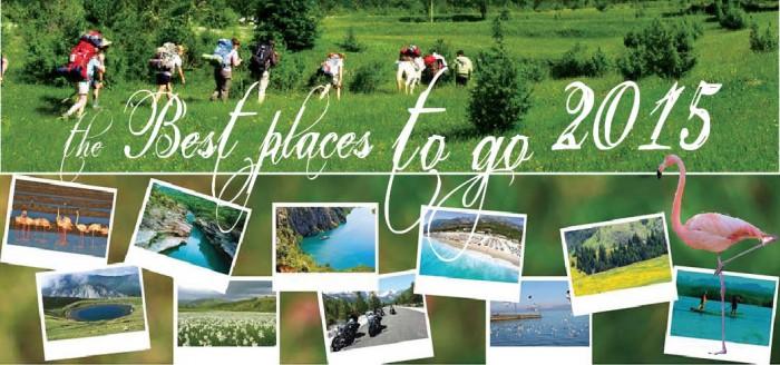 The Best Places to go - Destinacionet më të bukura shqiptare 2015