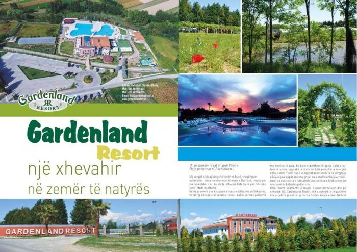 Gardenland Resort, Barbullush - një xhevahir në zemër të natyrës...